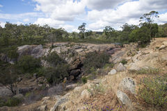 John Forrest parka narodowego skalista krajobrazowa pobliska siklawa zdjęcie royalty free