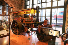John Fowler Co. steam roller Royalty Free Stock Photos
