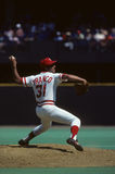 John Franco. Cincinnati Reds closer John Franco, #31.  (Image taken from color slide Stock Image