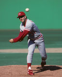 John Franco. Cincinnati Reds pitcher John Franco.  (image taken from color slide Royalty Free Stock Image
