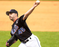 John Franco. New York Mets pitcher John Franco.  (Image taken from color slide Royalty Free Stock Photo