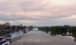 John Frost bridge in Arnhem Stock Photography