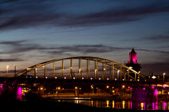 John Frost Bridge Arnhem stock photography