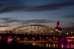 John-Frostbrücke Arnhem Stockfotografie