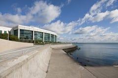 John G. Shedd Aquarium Chicago. John G. Shedd Aquarium on edge of Lake Michigan Stock Photo