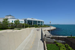 John G. Shedd Aquarium on Lake Michigan Stock Photos