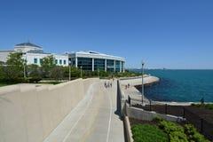 John G. Shedd Aquarium on Lake Michigan Stock Photos