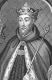 John of Gaunt. (Ghent), 1st Duke of Lancaster (1340-1399) on engraving from the 1800s. Member of the House of Plantagenet and the third surviving son of King Stock Photo