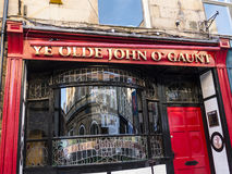 The John of Gaunt Pub in Lancaster England in the Centre of the City Royalty Free Stock Photos