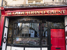 The John of Gaunt Pub in Lancaster England in the Centre of the City Stock Photography
