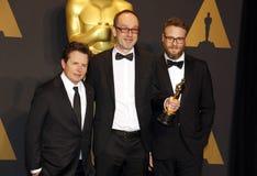 John Gilbert, Seth Rogen and Michael J. Fox Royalty Free Stock Images