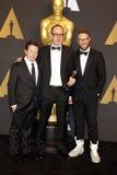 John Gilbert, Seth Rogen and Michael J. Fox Stock Photography