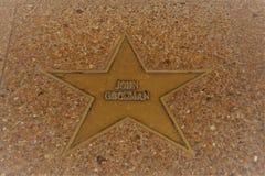 John Goodman Star St Louis Walk av berömmelse arkivfoto