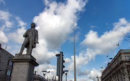 John Gray statue and the Spire in Dublin Stock Photography