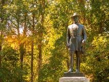 John H Forney Standbeeld Burgeroorlog Royalty-vrije Stock Foto