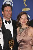 John Hamm,Elizabeth Moss Royalty Free Stock Photos