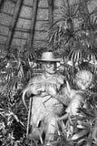 John Hammond-Statue Lizenzfreie Stockfotos