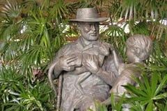 John Hammond statue Stock Photography