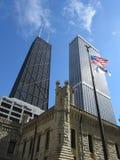 John Hancock buduje w Chicago obraz royalty free
