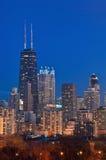 John Hancock Building. Image of John Hancock building and Chicago skyline Royalty Free Stock Image
