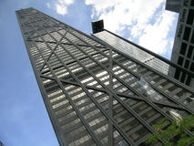 John Hancock Building, Chicago, Illinois, de V.S. stock foto's