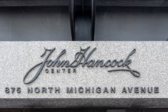 John Hancock Building - Chicago Royalty Free Stock Images