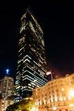 The John Hancock Building at night, in Boston, Massachusetts. Stock Photography