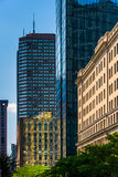 John Hancock Building y otros edificios en Boston, Massach Fotos de archivo libres de regalías