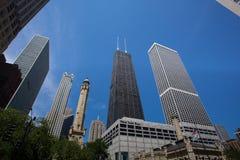 John Hancock Center in Chicago Fotografia Stock Libera da Diritti