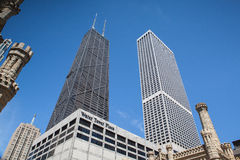 John Hancock Center  in Chicago Stock Photography