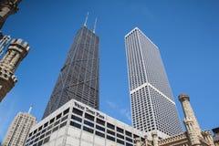 John Hancock Center en Chicago Fotografía de archivo