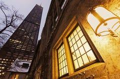 John Hancock Center en Chicago céntrica Foto de archivo libre de regalías