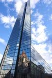 John Hancock Tower Skyscraper en Boston Fotos de archivo libres de regalías
