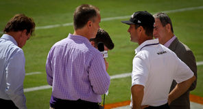John Harbaugh wywiad Fotografia Royalty Free