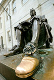 John Harvard Lucky Shoe Royalty Free Stock Photography