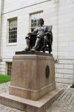 John Harvard statue Stock Image