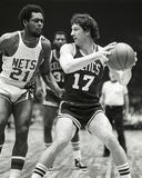 John Havlicek, Boston-Celtics Stockbild
