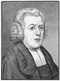 John Henry Newton. (1725 - 1807)  English sailor, ex-slave trader and Anglican clergyman, famous as a hymn-writer and supporter of the abolition of slavery Stock Image