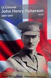 John Henry Patterson, Μπέλφαστ, Βόρεια Ιρλανδία στοκ εικόνες