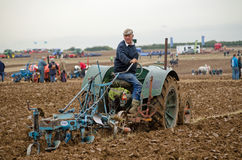 John Hodges, Ploughing Royalty Free Stock Photography