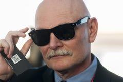 JOHN HOFFMAN AUF DEM BEWEGLICHEN WELTkongreß 2014 Lizenzfreie Stockfotografie