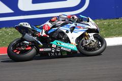 John Hopkins Hopper - Suzuki GSX-R 1000 - Crescent Royalty Free Stock Images