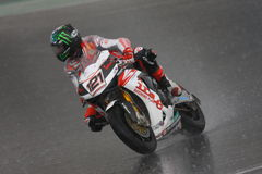 John Hopkins WSBK Nurburgring 2009 Stock Photos