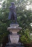 John Howard-beeldhouwwerk Bedford het UK stock afbeelding