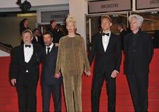 John Hurt & Slimane Dazi & Tom Hiddleston & Jim Jarmusch & Tilda Swinton Royalty Free Stock Photography