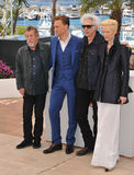 John Hurt & Tom Hiddleston & Jim Jarmusch & Tilda Swinton fotografia stock libera da diritti