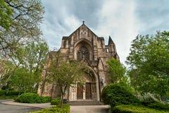 John a igreja divina em New York Imagens de Stock