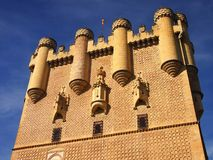 John II Tower of Alcazar of Segovia Royalty Free Stock Image