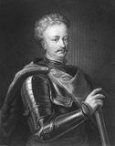John III Sobieski. (1629-1696). One of the most notable monarchs of the Polish-Lithuanian Commonwealth. Engraved by J.Thomson and published in The Gallery Of Stock Photo
