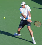 John ISNER at the 2009 BNP Paribas Open Stock Photos